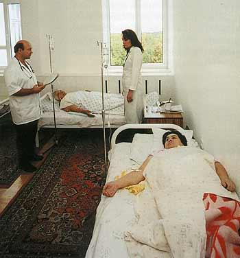 Терапевтическое отделение, скорая помощь и стационар