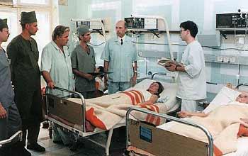 хирургические отделения больницы скорой помощи